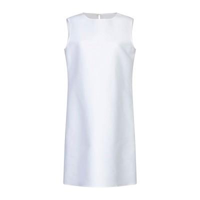 アスペジ ASPESI ミニワンピース&ドレス ホワイト 40 コットン 100% ミニワンピース&ドレス