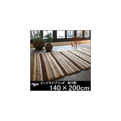 ラグ ラグマット/東リ/床暖/TOR3868/140×200cm/防ダニ
