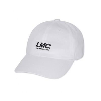 [韓國 STREET FASHION SELECT SHOP][LMC] LMC ITALIC 6 PANEL CAP white