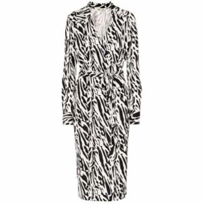 ダイアン フォン ファステンバーグ Diane von Furstenberg レディース ワンピース ラップドレス ミドル丈 Naomi printed silk midi wrap
