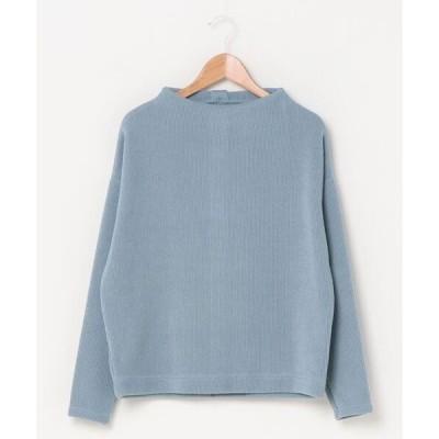 tシャツ Tシャツ ニットソーバッグ釦プルオーバーカットソー