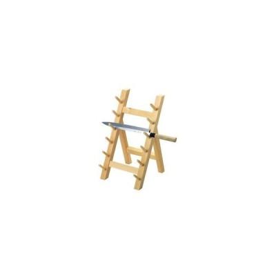 木製 庖丁掛け 6段(10301)