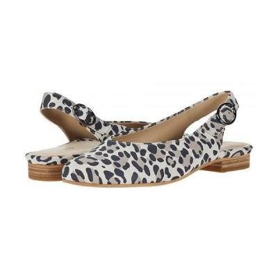 Earth アース レディース 女性用 シューズ 靴 フラット Uptown Ursula - Taupe Multi Silky Suede Leopard Print