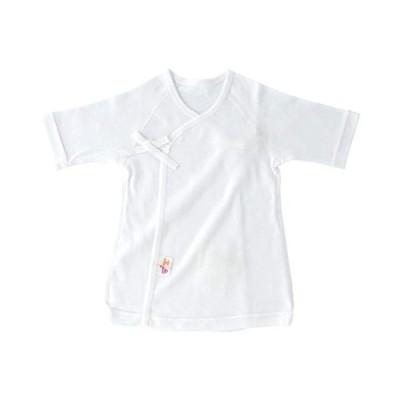 赤ちゃんの城 短肌着 50〜60 フライス サンフォーキン超長綿 綿100% 春 夏 秋 冬 日本製