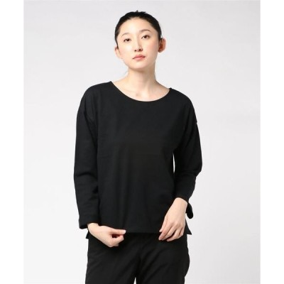 tシャツ Tシャツ ミニ裏毛ドロップショルダービッグTシャツ