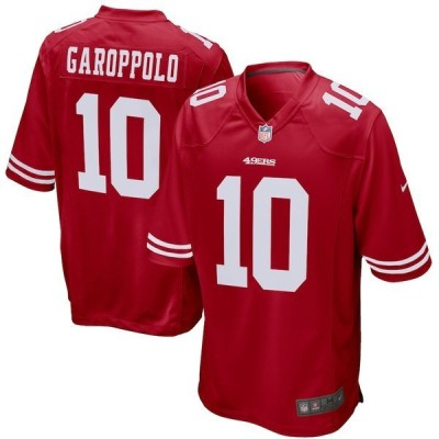 ナイキ メンズ Tシャツ トップス Jimmy Garoppolo San Francisco 49ers Nike Game Player Jersey