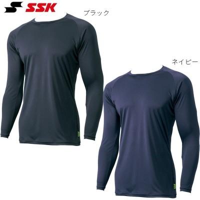 野球 アンダーシャツ ローネック 長袖 エアリーファン SSK SCF170LL