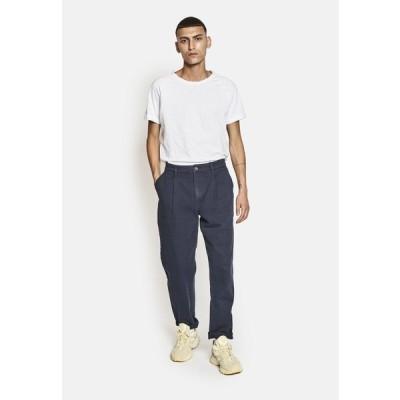 リディファイン レベル カジュアルパンツ メンズ ボトムス CONRAD PANTS - Trousers - navy