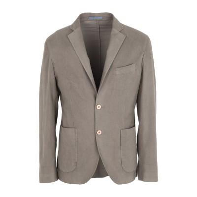 DANDI テーラードジャケット ドーブグレー 54 コットン 53% / レーヨン 46% / ポリウレタン 1% テーラードジャケット