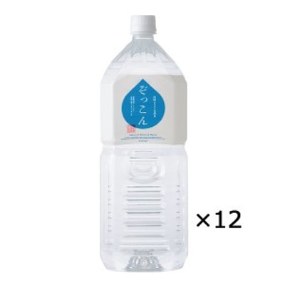 四国カルスト天然水 ぞっこん 2L 2ケース 愛媛 水 2リットル ぞっこん四国
