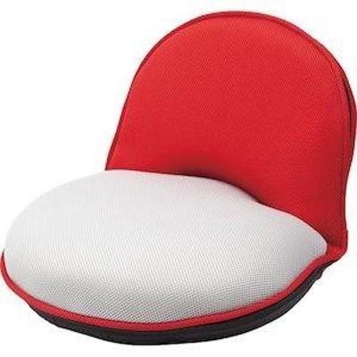 コンパクト座椅子 レッド  KMZ-278-RC