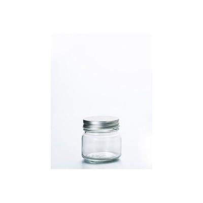 保存瓶 保存容器 保存びん ガラス 銀キャップ保存瓶200 6個入 アデリア 日本製