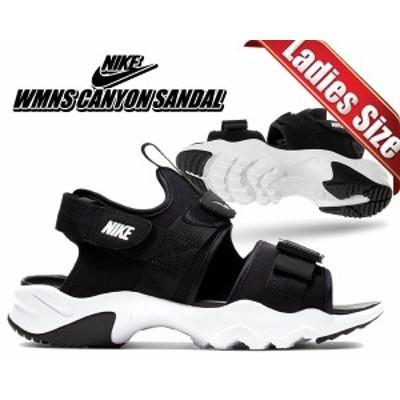 【ナイキ ウィメンズ キャニオン サンダル】NIKE WMNS CANYON SANDAL black/white-black cv5515-001 レディース スニーカー サンダル ス