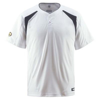 デサント DESCENTE  コンビネーションTシャツ DB205 SWBK【17日限定5%OFFクーポン】