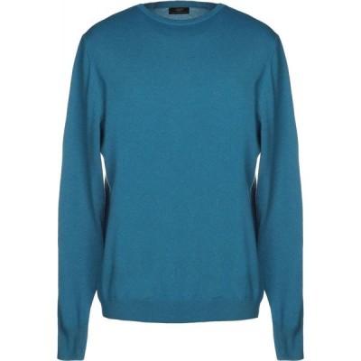 リウジョー LIU JO MAN メンズ ニット・セーター トップス sweater Deep jade