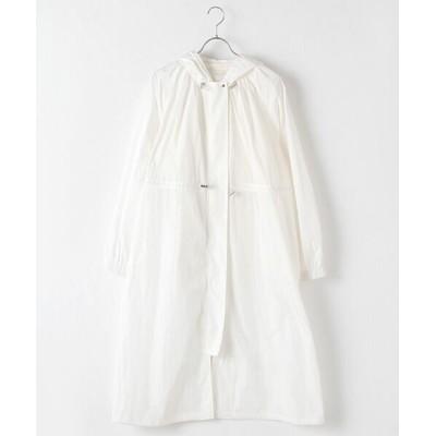 MARcourt/マーコート MIDIUMISOLID for Ladies ロングワイドパーカーコート off white FREE