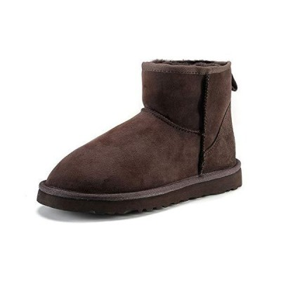 [YFS] ムートンブーツ ボアブーツ スノーブーツ メンズ レディース 防寒 防水 ふわふわ もこもこ 裏起毛 暖かい