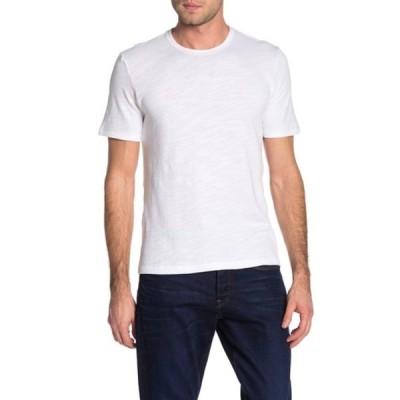ラグアンドボーン メンズ Tシャツ トップス Core Crew Neck Slub T-Shirt WHT