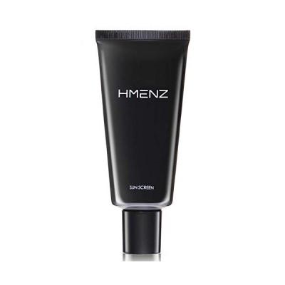 日焼け止め メンズ アフターシェーブ 汗 や水 に強い 特殊技術 ウォータープルーフ 顔 全身 用 HMENZ SPF50 + PA ++++ ロング