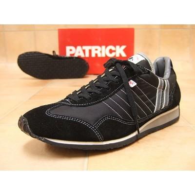 PATRICK STUDIUM パトリック スニーカー レディース スタジアム ブラック ※(予約)はメーカー在庫4営業日内に発送