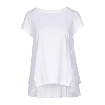 EUROPEAN CULTURE T シャツ ホワイト XS コットン 70% / ラミー 30% T シャツ