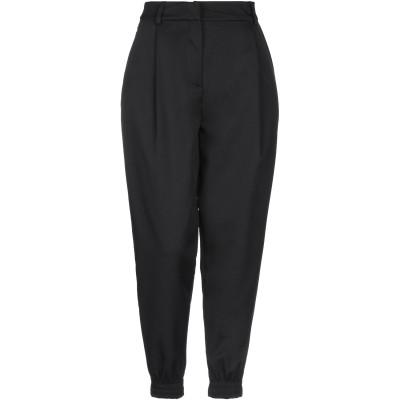 JE SUIS LE FLEUR パンツ ブラック 40 コットン 98% / ポリウレタン 2% パンツ