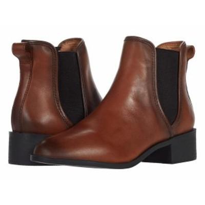 スティーブ マデン レディース ブーツ・レインブーツ シューズ Dares Boot Cognac Leather