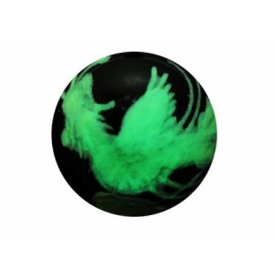 鳳凰 手彫り玉・オニキス(夜光) オニキス 12mm玉 手作りにオススメ! 天然石 パワーストーン