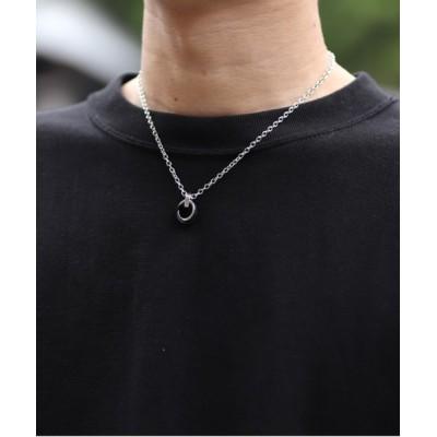 INTER FACTORY / ファッションインフルエンサー DAISUKE - ダブルリングネックレス made in INTER FACTORY MEN アクセサリー > ネックレス
