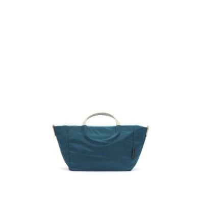 BRONTIBAYPARIS / フランス製 ナイロン2wayショルダーバッグ 「ポジターノ」 (サファイア*ゴールド)