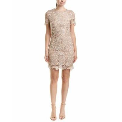 Dress the Population ドレスザポピュレーション ファッション ドレス Dress The Population Cocktail Dress S Beige