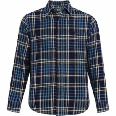 Woolrich ウールリッチ ファッション アウター Woolrich NEW Blue Mens Size Medium M Pocket Button Down Plaid Shirt