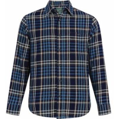 Woolrich ウールリッチ ファッション アウター Woolrich NEW Blue Mens Size Medium M Pocket Button Down Plaid Shirt