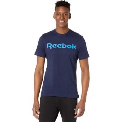 リーボック Reebok メンズ Tシャツ トップス Graphic Linear Read Tee Vector Navy