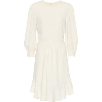 クロエ Chloe レディース ワンピース ミニ丈 ワンピース・ドレス Cady minidress Pristine White