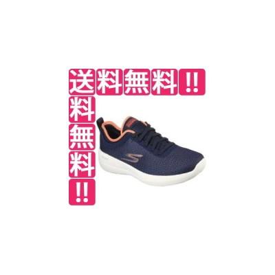 スケッチャーズ SKECHERS GO WALK JOY DELUXE レディース [サイズ:24.5cm] [カラー:ネイビー×コーラル] #124603-NVCL