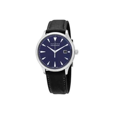 腕時計 モバード メンズ Movado Heritage Blue Dial Automatic Men's Watch 3650054