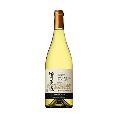 100余年の歴史を持つ自園産ぶどう100%日本ワイン 登美の丘ワイナリー 登美の丘 シャルドネ 2019 白ワイン 辛口 日本 750ml