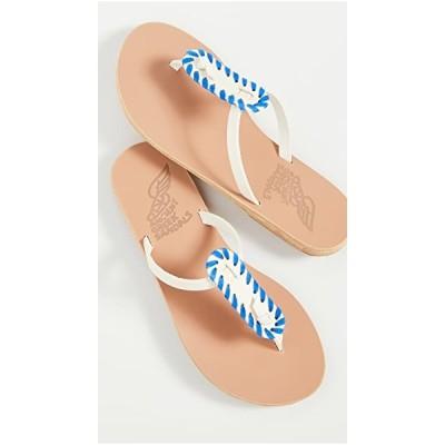 エンシェントグリークサンダル サンダル 平底 レディースAncient Greek Sandals Aliki Thong SandalsOff White/Blue