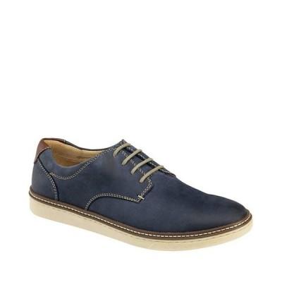 ジョンストンアンドマーフィー メンズ ドレスシューズ シューズ Men's McGuffey Suede Leather Plain-Toe Oxfords
