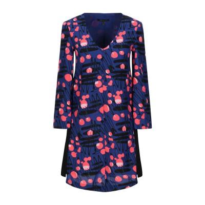 ARMANI EXCHANGE ミニワンピース&ドレス ブルー 0 ポリエステル 62% / エラストマルチエステル 38% ミニワンピース&ドレス