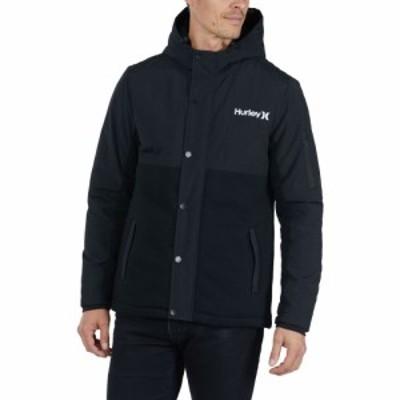 ハーレー Hurley メンズ フリース トップス Brett Fleece Full-Zip Jacket Black