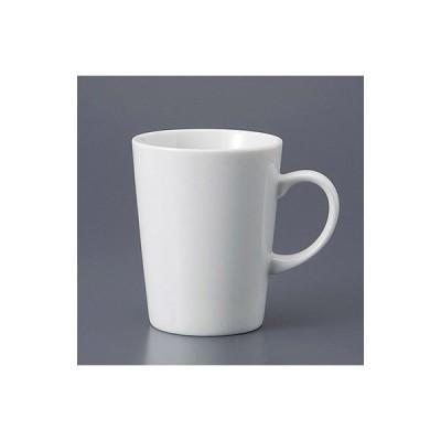 マグカップ 白 トーク カフェ 食器 業務用 陶器 美濃焼 9a791-5-43g