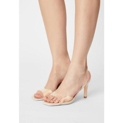レディース サンダル TEST ME SQUARE - Sandals - beige