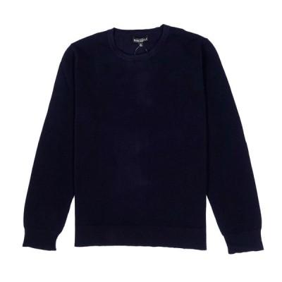 ジェイクルー マーカンタイル J.Crew Mercantile メンズ Men's セーター Slim Fit Cotton Pique Crewneck Sweater ネイビー Navy