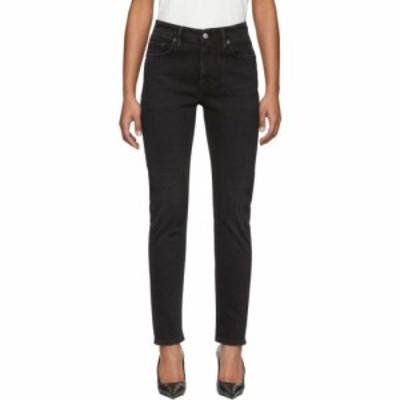 アクネ ストゥディオズ Acne Studios レディース ジーンズ・デニム ボトムス・パンツ black bla konst melk used jeans Used black