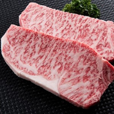 米沢牛ロースステーキ 2枚 320g 黒毛和牛 国産 牛肉 和牛 冷凍 高橋畜産食肉 贅沢 ブランド牛 ステーキ 肉 山形県