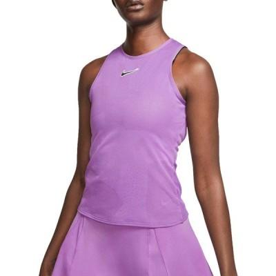 ナイキ シャツ トップス レディース Nike Women's NikeCourt Tennis Tank Top PurpleNebula