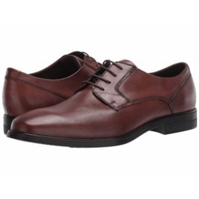 ECCO エコー メンズ 男性用 シューズ 靴 オックスフォード 紳士靴 通勤靴 Queenstown Plain Toe Tie Amber Cow Leather【送料無料】