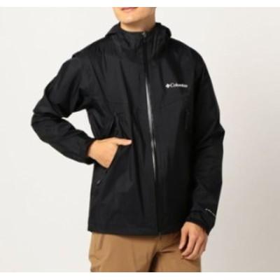 コロンビア columbia メンズ アウトドア ウェア レインウェア ライトクレスト ジャケット PM5738 010 【2020FW】